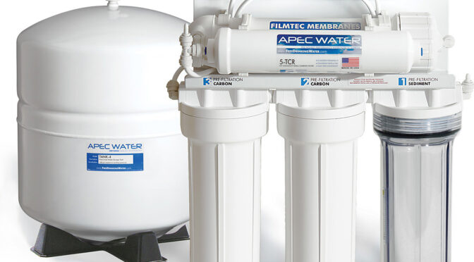 Home water filtration systems in the Cowichan Valley