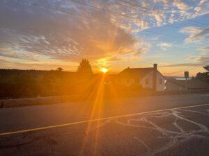 Sunrise in Ladysmith